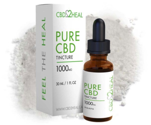 Purest CBD oil in Canada from isolate