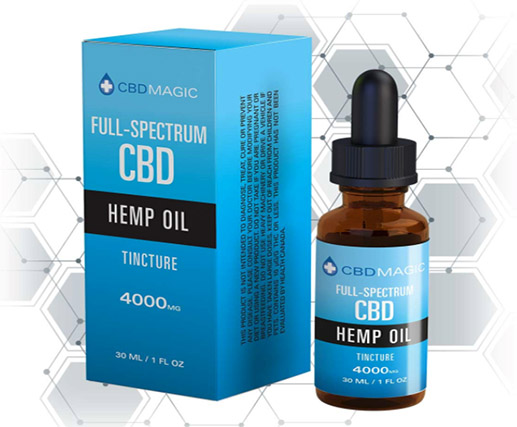 Strong full spectrum CBD oil - 4000mg.